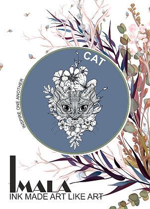 IMALA - A5 STAMP - CAT