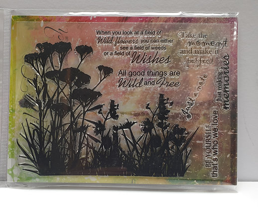 Stamps by Me Wild Flowers 1 stamp set