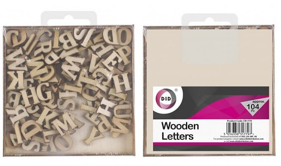 Wooden Letters - Assorted