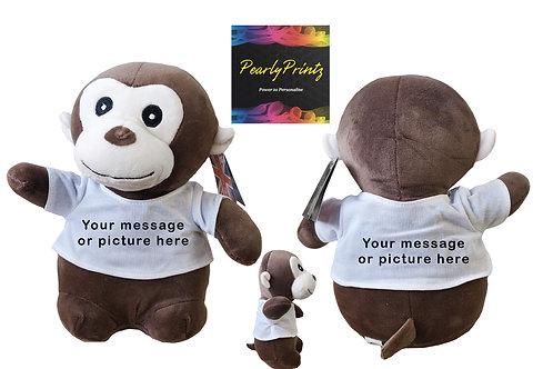 Monkey Plush Teddy.