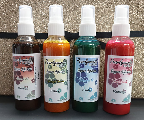 Pearlywinks Copper Infusion (hybrid) 100ml Spray set