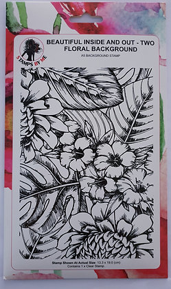 Stamps by Me Floral Background A5