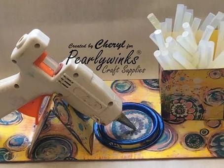 Mount Board Glue Gun Holder