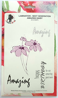 Stamps by Me Lamination Amazing Daisy A5 set