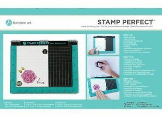"Hampton Art Stamp Perfect 7"" x 9"""