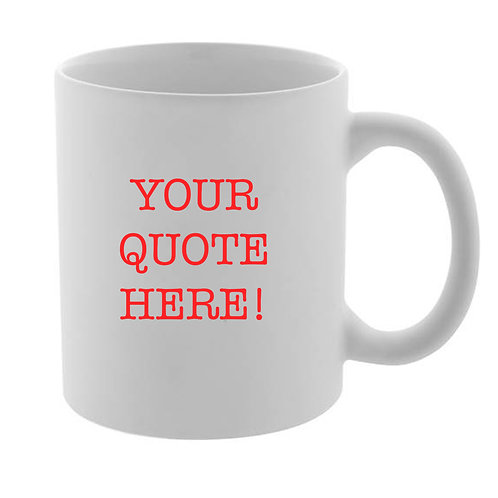 Personalised Quote