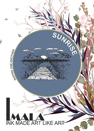 IMALA - A5 STAMP -SUNRISE