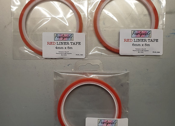 Red Liner Tape 5m