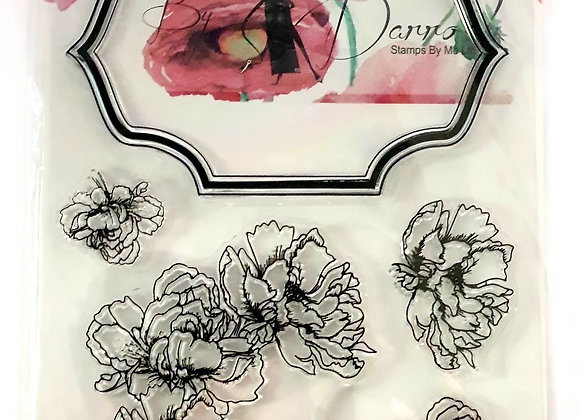 Stamps by Me Artistic Mounts Floral Frame 2 Stamp and Die