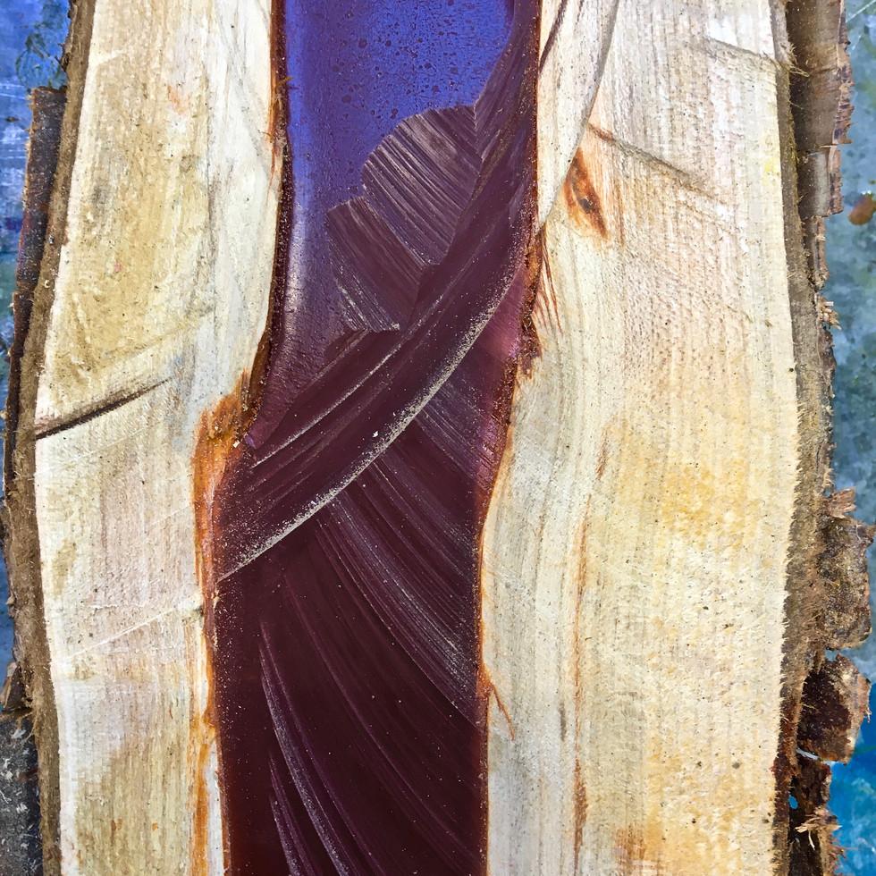 Detail- TFN specimen split log (blood red) 2019