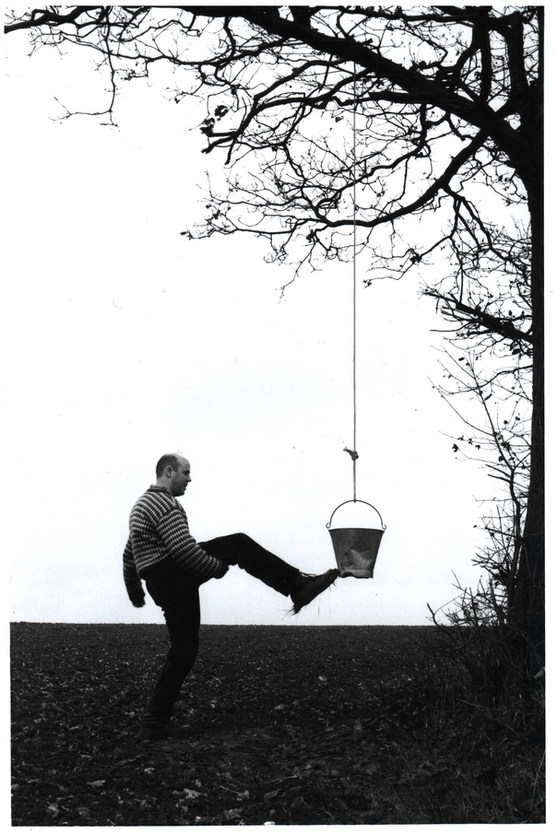 Kick the bucket (2) [photo work]