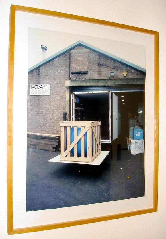 MOMART [ballooning] 1996 photograph in frame