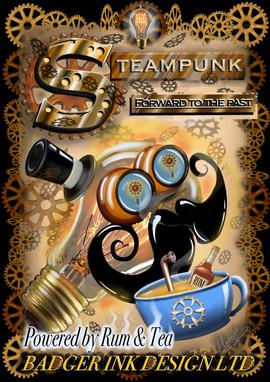 STEAMPUNK T-SHIRT DESIGN