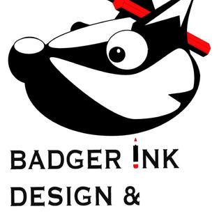 Badger Ink Logo VECTOR EXAMPLE