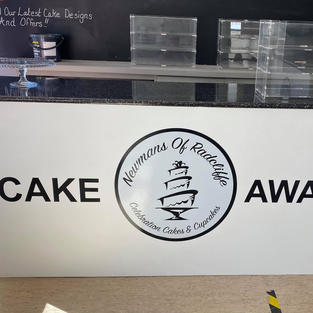 Branding used on internal signage