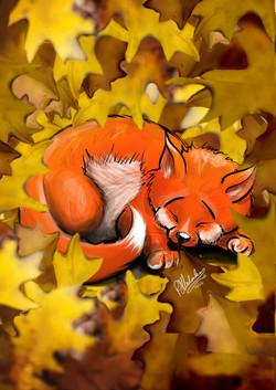 I'm_Kinda_Sleepy-Fox_Cub
