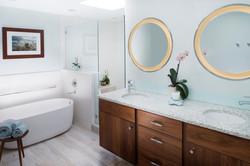 Kenmore Master Bathroom Vanity & Tub