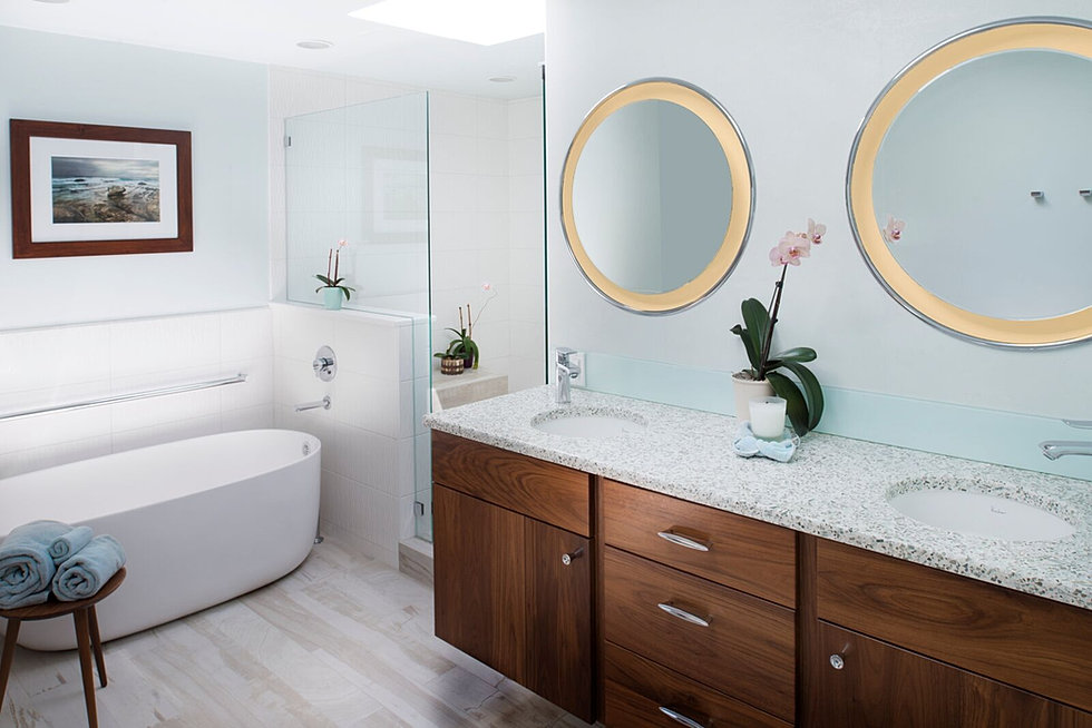 kenmore master bathroom vanity u0026 tub