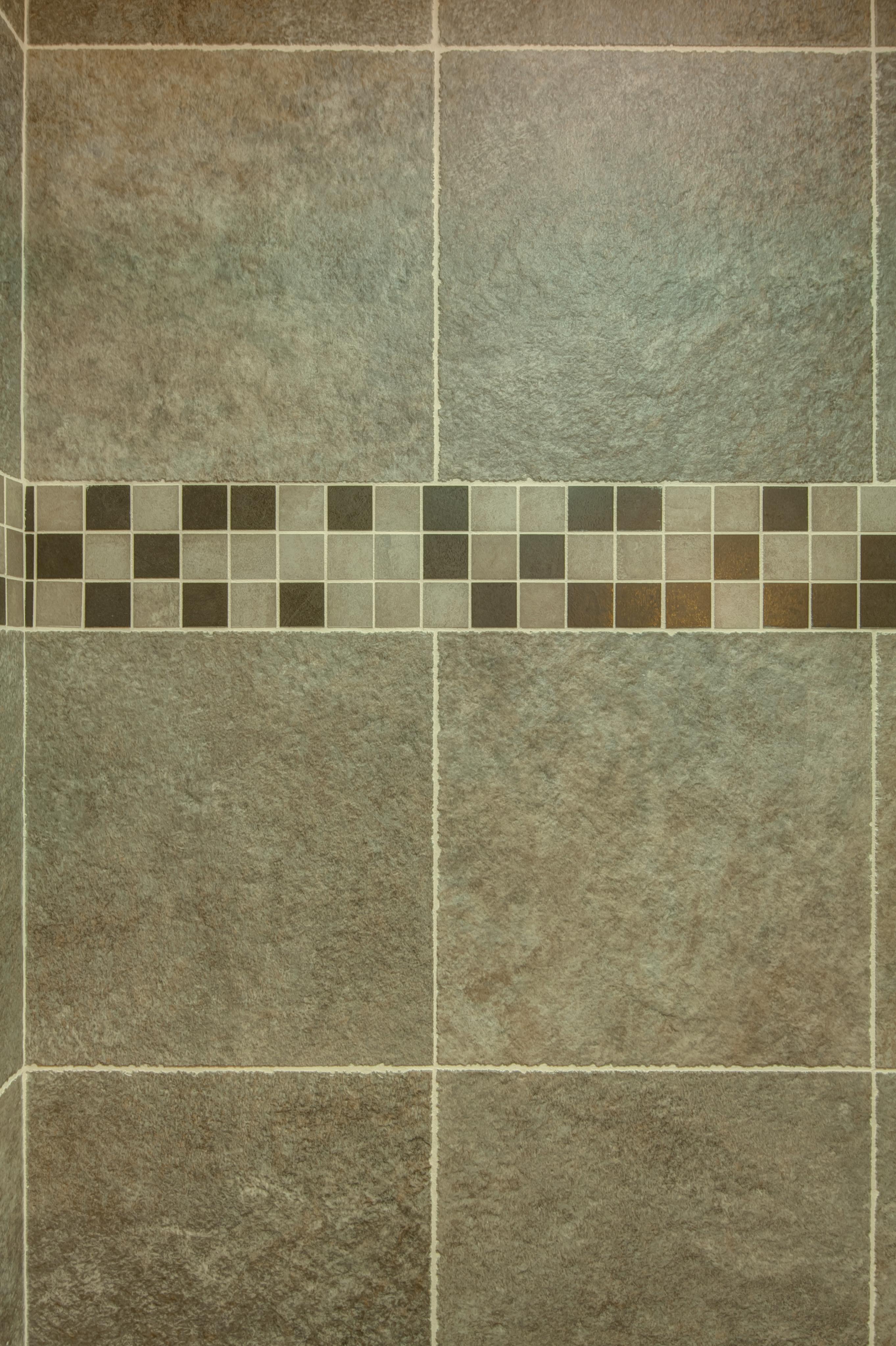 Craftsman Bathroom Mosaic Tile