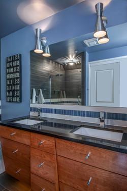 Modern Bathroom Double Vanity