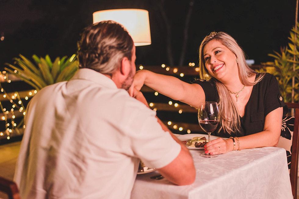 Dia dos Namorados com Jantar Romântico