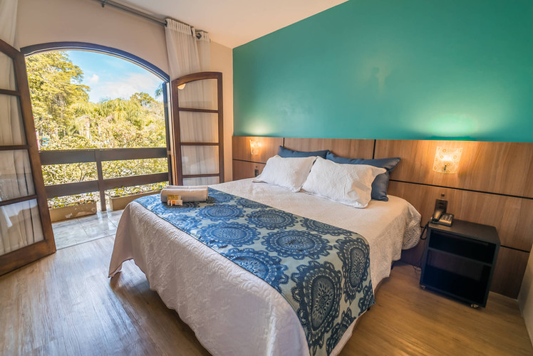Suíte Luxo c Varanda - Hotel Santa Cruz