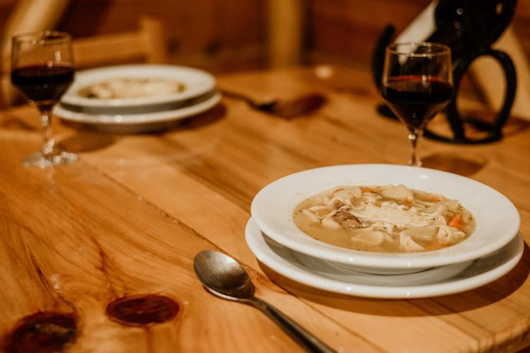 Jantar - Sopa - Restaurante - Costão do