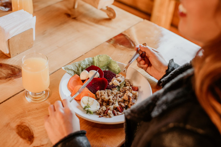 Almoço - Restaurante - Costão do Cambar