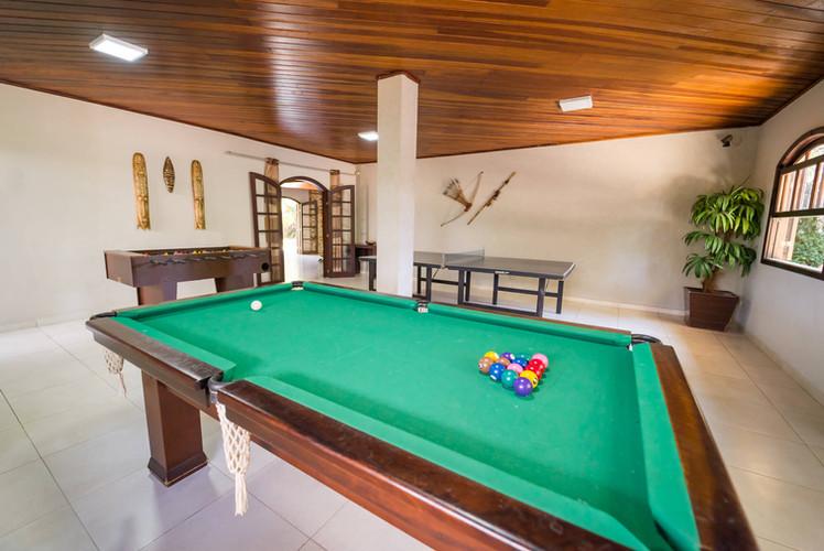 Sala de jogos - Hotel Santa Cruz - Curit