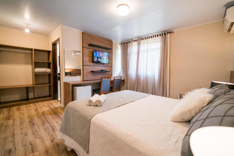 Suíte Luxo - Hotel Santa Cruz - Curitiba