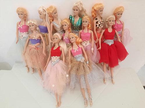 Barbie Bailarinas (12 peças)