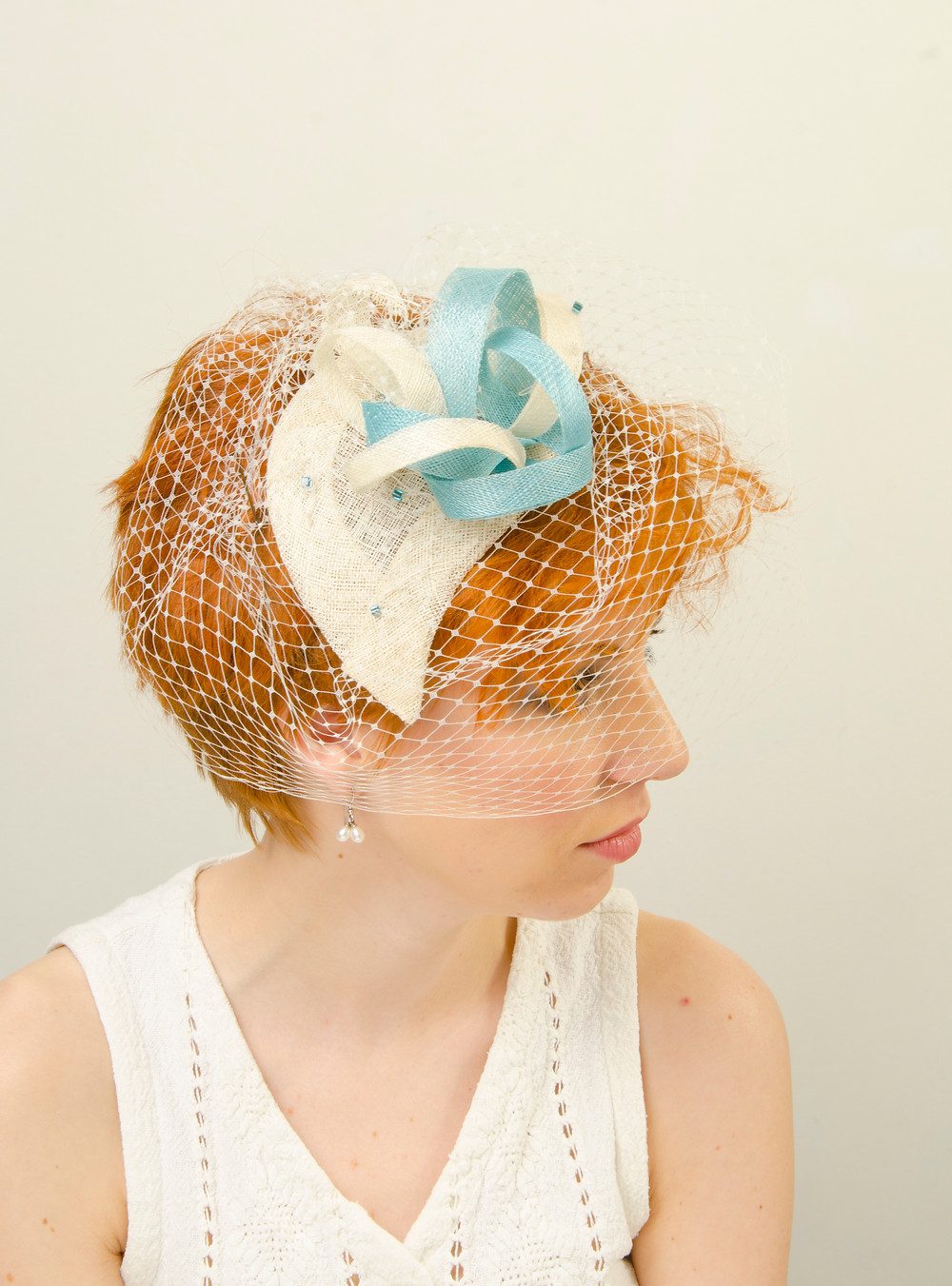 Today has been a very exciting day. We have had our first workshop booked through our new website.  This is the first headpiece I made in my first workshop many years ago. Since making this we have come so far.