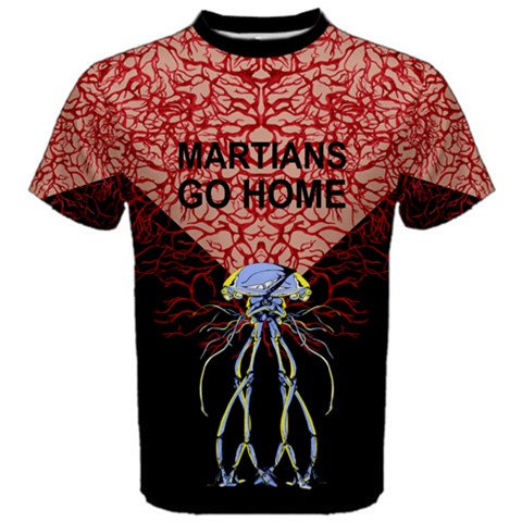 Martians Go Home tee