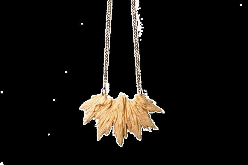 Splintered wood Resin necklace