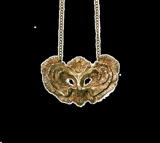 Brass gills pendant