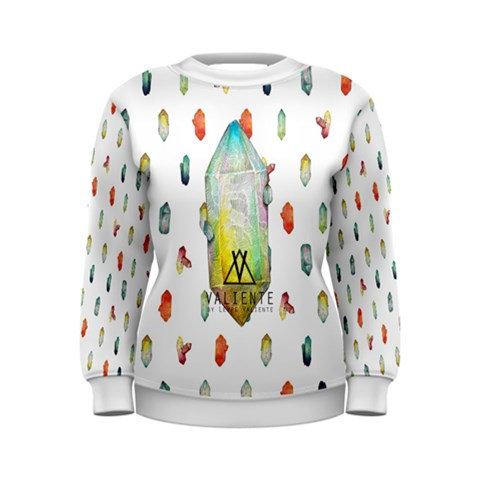 White Crystals Sweatshirt