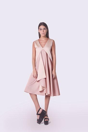 The Winged Face dress / vestido