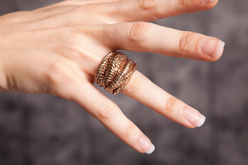 Large Tendril ring