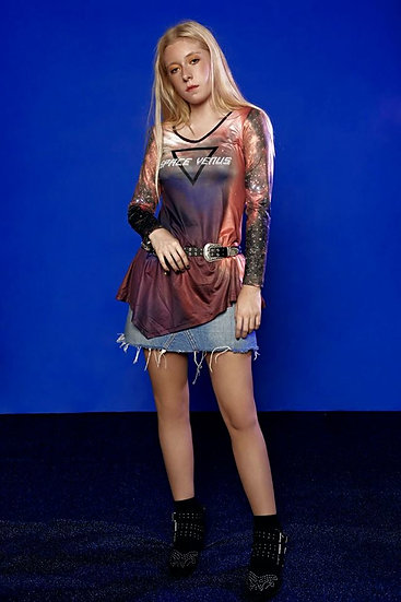 Space Venus tunic dress