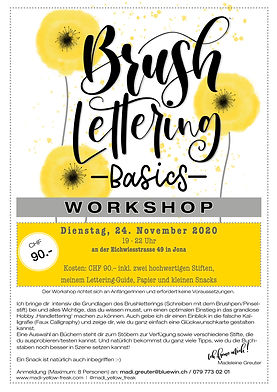 Brushlettering Workshop Jona - 24-11-20.