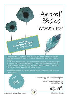 Auschreibung-Aquarell-Basics-Workshop 2-