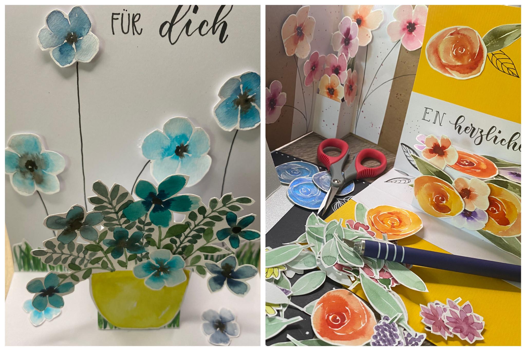 Up Karten floral 19.8., 19-22Uhr
