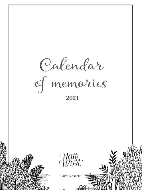 Calendar of memories- 2021