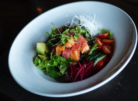 3 pomysły na surowe dania z ryby w diecie ketogenicznej