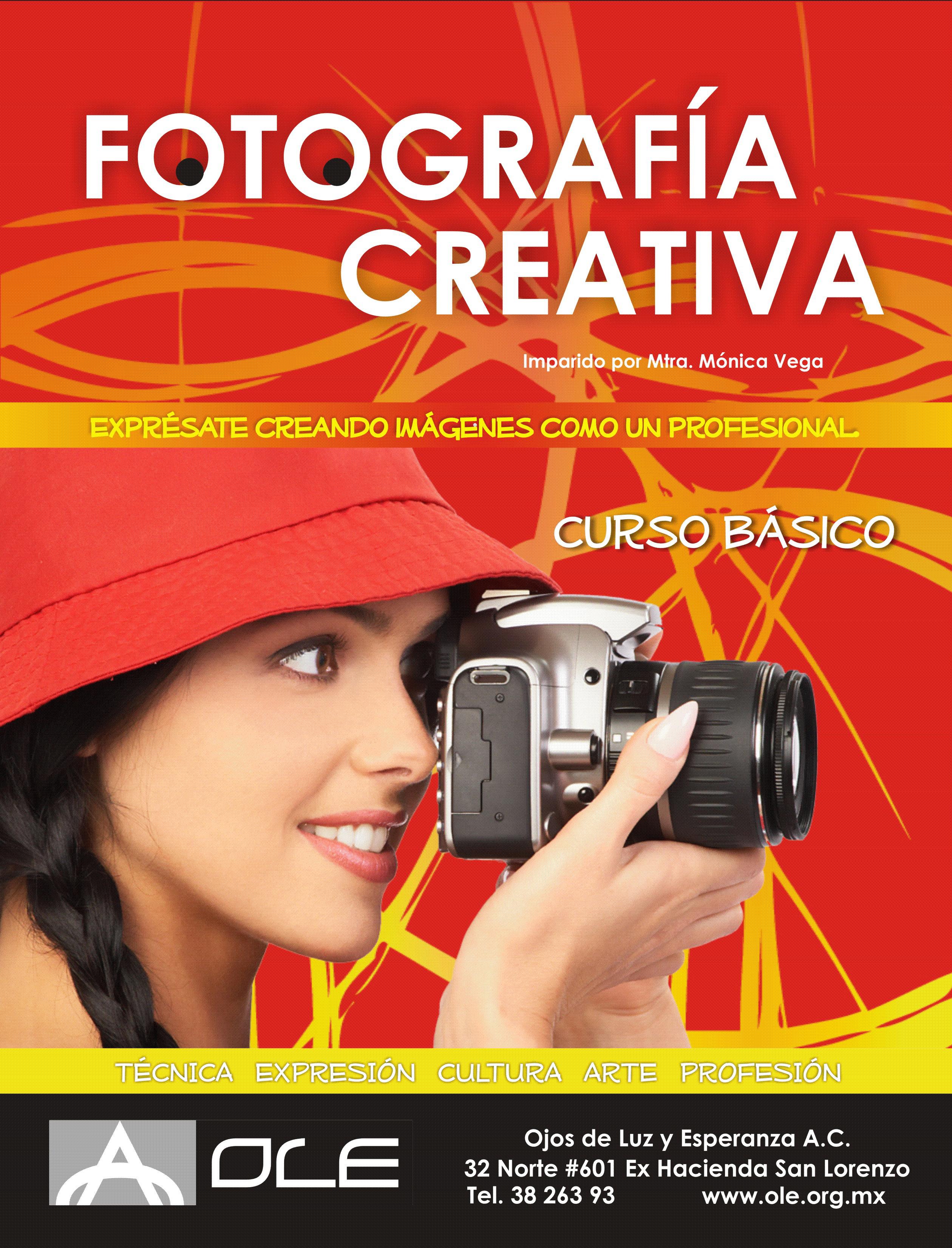 Cartel Fotografía Creativa