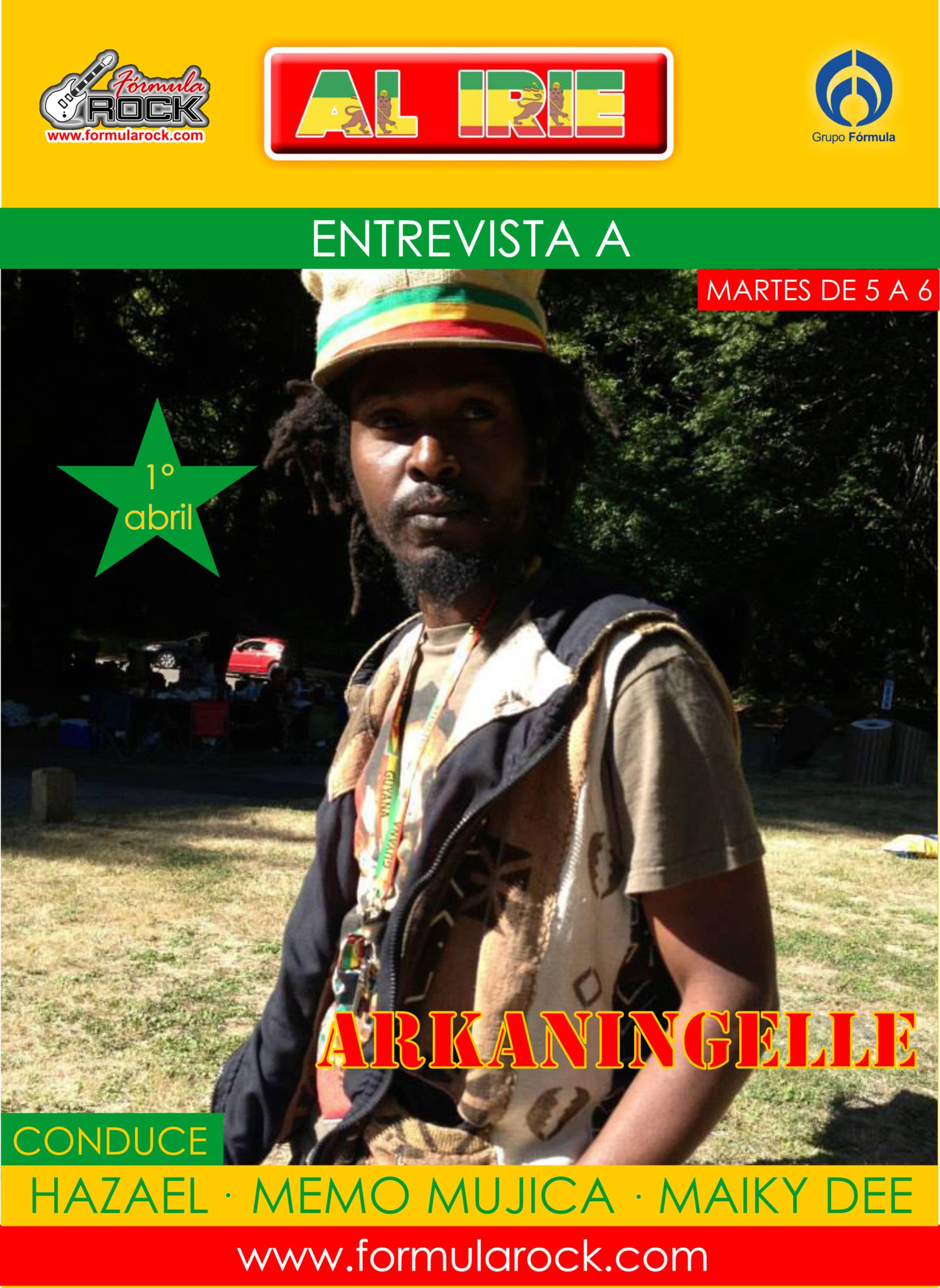 ArKaingelle en Al IRIE promo