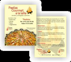 Flyer Paellas