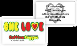 Tarjeta Cultiva Reggae