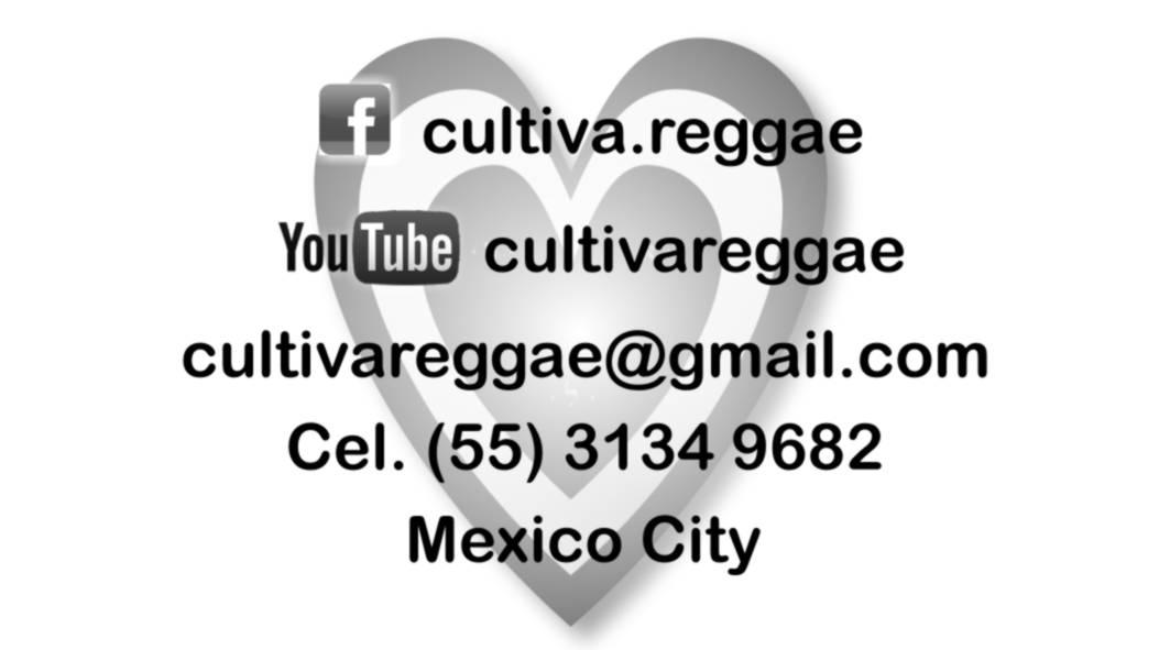 Tarjeta Cultiva Reggae Reverso