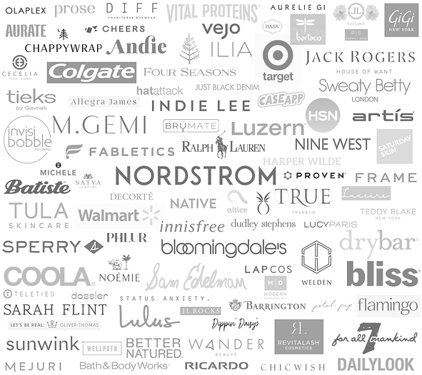 stylee lyst brand partnerships